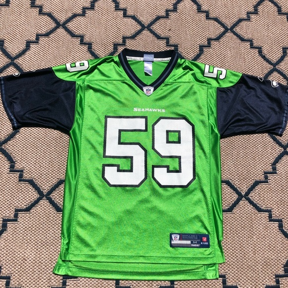 promo code 09537 9261f Mint condition Seahawks Throwback Jersey